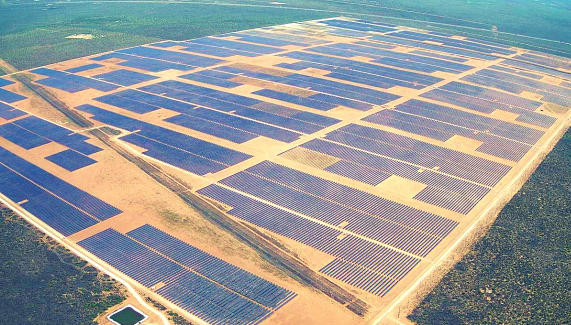 Chariot Energy's Oberon solar farm located in West Texas
