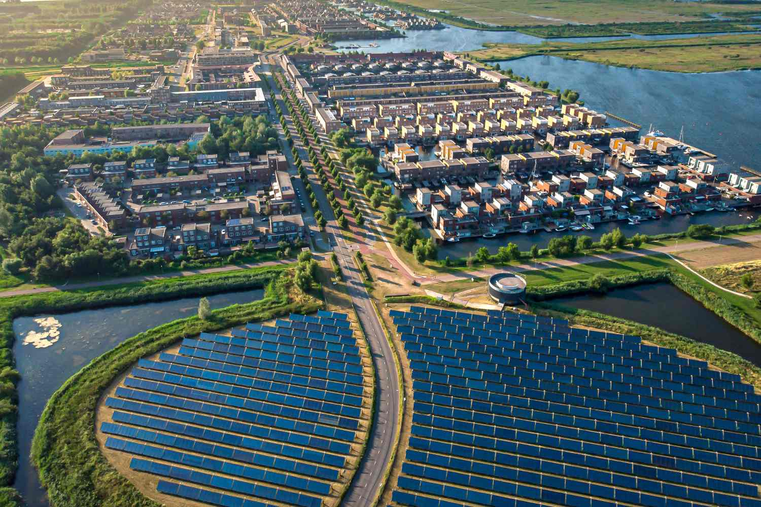 A community solar project in The Netherlands